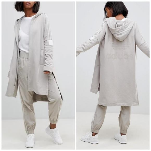 Adidas Adibreak Long Hoodie Taupe B15